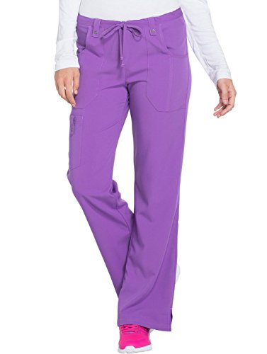 Dickies Xtreme Stretch Women's Drawstring Scrub Pant XXX-Large Purplicious by Dickies