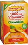 Alacer EmergenC Orange Chewable Vitamin C (2 Pack)