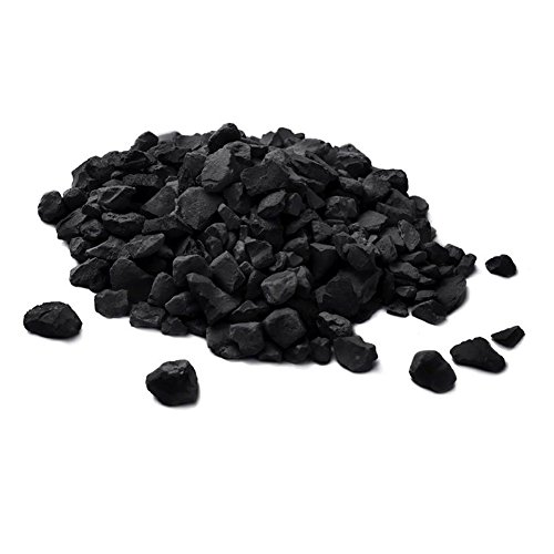 Russian Shungite Stones for Water Purification, 100 Grams, 10-20mm Stones
