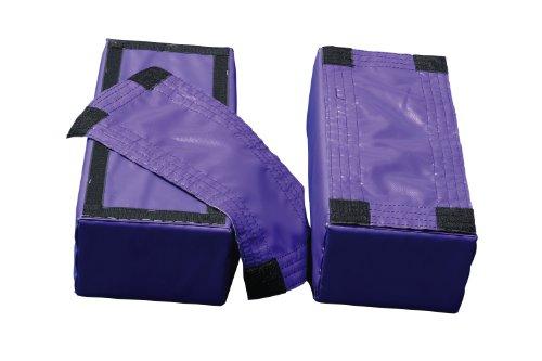 Brianna Beam Leg Bases, Purple ()