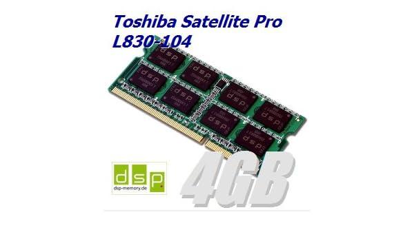 Memoria RAM de 4 GB para Toshiba Satellite Pro L830 - 104: Amazon.es: Informática