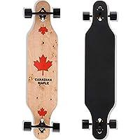 QingAn Longboard Skateboard, 41-Inch Downhill Skateboard Through Deck 8-Layer Maple, Complete Skateboard Cruiser for…