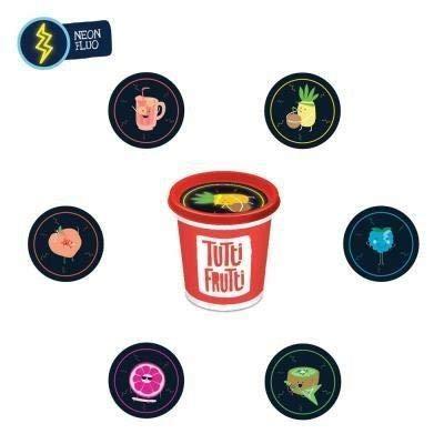 Bojeux Tutti Frutti : Pot de 100 gr /Kiwi neon: Toys & Games