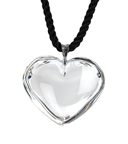 Baccarat Jewelry Glamour Heart Clear Pendant Necklace & - Heart Baccarat