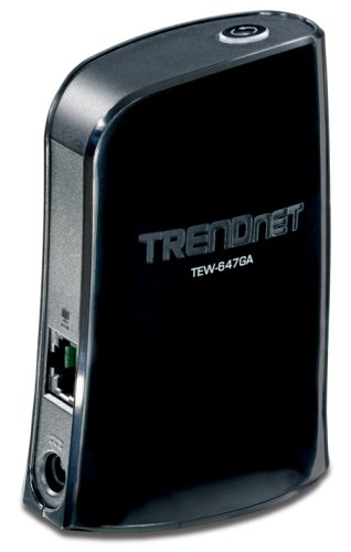 TRENDnet Wireless N Gaming Adapter TEW-647GA (Black)