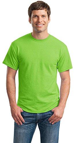 Gildan Mens DryBlend 50 Cotton/50 Poly T-Shirt, 3XL, Lime