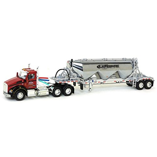 Die Cast Promotions (DCP) 1/64 Kenworth T880 with Pneumatic Heil Commodity Trailer, Lefebvre & Sons, 2017 ()