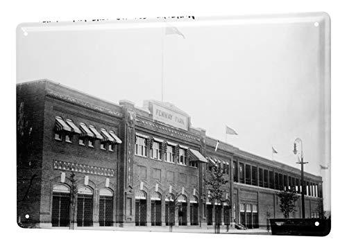 LEotiE SINCE 2004 Tin Sign Metal Plate Decorative Sign Home Decor Plaques World Tour Fenway Ball Park Boston