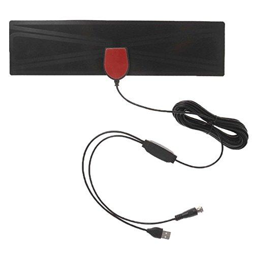 (HD FREE TV Indoor Home High-definition TV Satellite Digital Antenna Receiver)