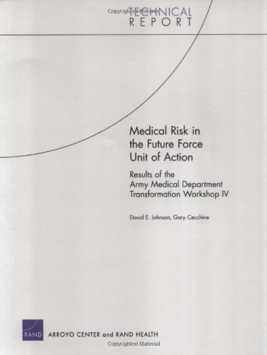 Medical Risk in the Future Force Unit of Action: Results of the Army Medical Department Transformation Workshop IV