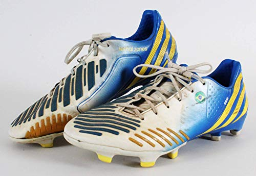 4f9f0f60f69 Giuliano Game-Worn Cleats Brazil National Soccer Team - Unsigned Soccer  Match Used Items
