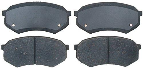 ACDelco 17D389C Professional Ceramic Front Disc Brake Pad Set