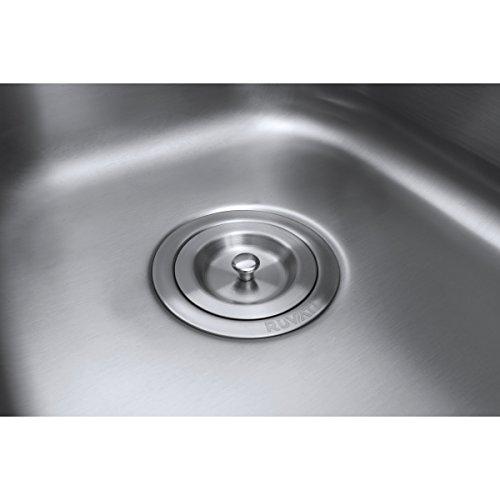 Ruvati 32-inch Undermount 50/50 Double Bowl 16 Gauge Stainless Steel Kitchen Sink - RVM4300 by Ruvati (Image #9)