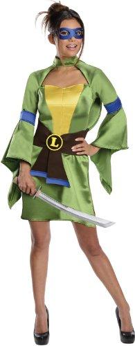 Turtle Shell Costume Amazon (Secret Wishes Teenage Mutant Ninja Turtles, Leonardo Costume, Green, X-Small)