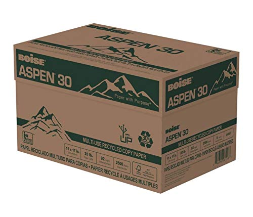 BOISE ASPEN 30% Recycled Multi-Use Copy Paper, 11