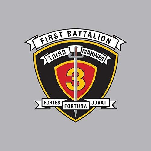 1st Battalion 3rd Marine Regiment USMC Sticker Vinyl Decal Sticker Made in - 3rd Marine