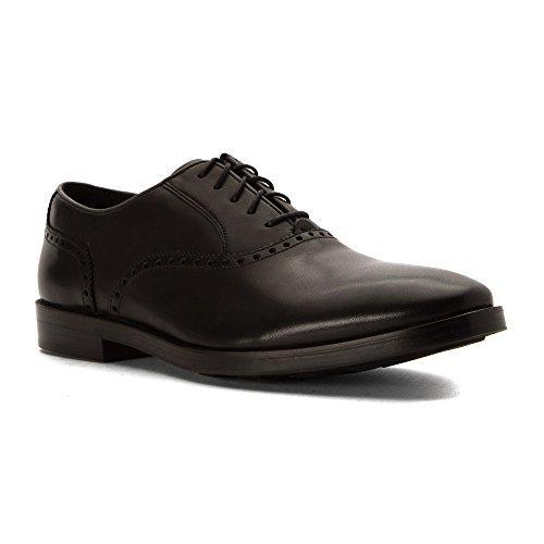 Mens Oxford Hamilton (Cole Haan Men's Hamilton Grand Plain Toe Oxford Shoes, Black, 12 D(M) US)