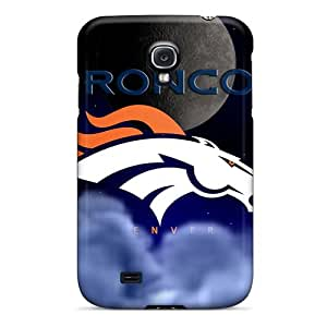 Samsung Galaxy S4 FRO1383uWtg Customized Stylish Denver Broncos Image Anti-Scratch Cell-phone Hard Covers -SherriFakhry