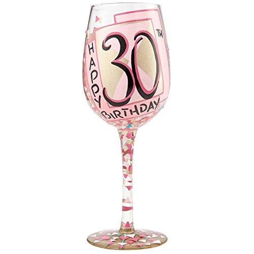 30th wine glass - 6