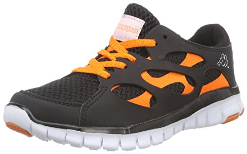 Baskets Adulte Fox Black orange Footwear Nc Mixte Schwarz 1144 Kappa Unisex Basses vIqn0q1d