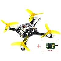 KINGKONG/LDARC Fly Egg 130 PNP FPV Racing Mini Indoor Brushless Drone Quadcopter XM(Frsky) Receiver