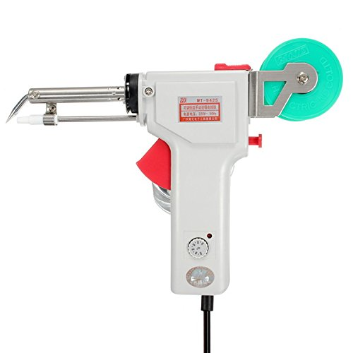 GJ MT-942C 60W Temperature Adjustable Single Automatic Send Tin Heating Solder Iron Gun