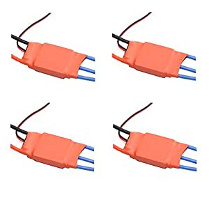 Neewer® 30A FIRMWARE Brushless ESC Set with 3A/5V BEC for RC Quadcopter Multi-copter APM2(4 PCS)