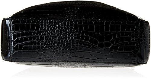 Trussardi Jeans Aspen Borsa a Spalla, 38 cm, Nero