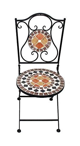 Mosaik Gartenmöbel terra 1 Stuhl