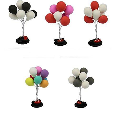 Dalino Babys Toys Cute Mini Confession Small Balloon Car Decoration Cartoon Car Creative Decoration Supplies Red