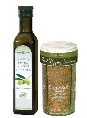 - Dean Jacob's Bread Dipping Seasonings with Cold Pressed Olive Oil