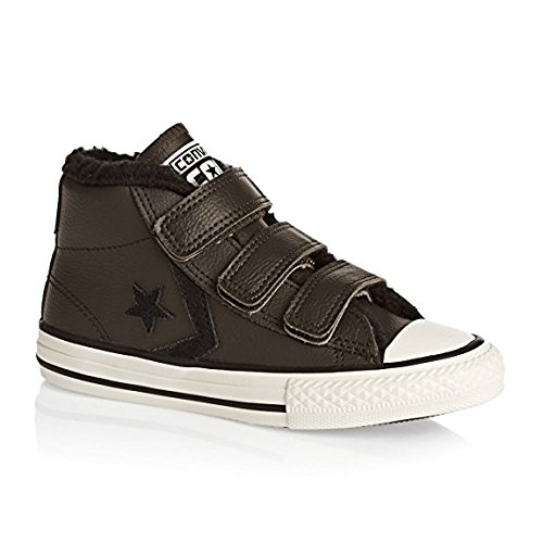 Zapatillas para ni�o, color marr�n , marca CONVERSE, modelo Zapatillas Para Ni�o CONVERSE STAR PLAYER 3V MID Marr�n Hot Cocoa/Parchment/Black