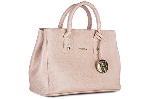 Furla borsa donna a mano shopping in pelle nuova rosa