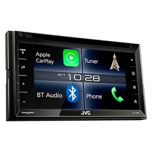 JVC KW-V820BT 6.8-Inch CarPlay Receiver Double DIN BT In-Dash Stereo with XM, iDataLink Maestro, Dual ()