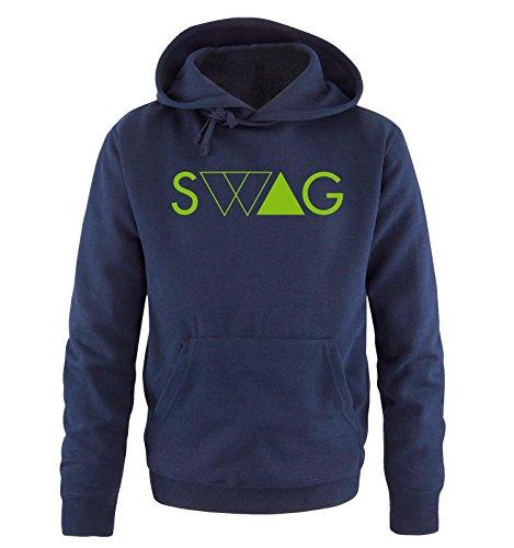 Uomo Blu Verde Shirts Comedy Cappuccio Swag Sweater Taglia Navy xxl S Hoodie Deluxe wFWq7vt