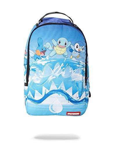 SPRAYGROUND BACKPACK POKEMON SQUIRTLE WATER SHARK (Pokemon Best Wishes Charizard Returns)