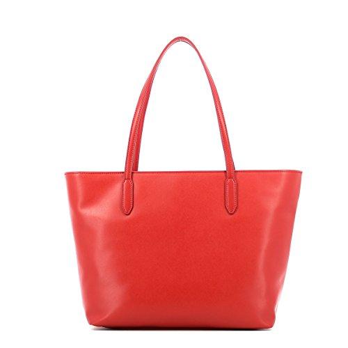Tote Femme Noir Handbag Rosso Zip Moschino Love WqHU1xgfAw