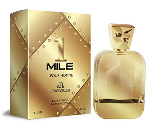 1 MILE by Jean Rish 3.4 Oz for MEN EDT MADE IN USA ()