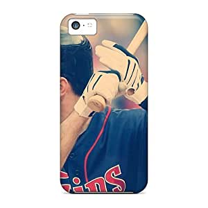 Durable Joe Mauer Back Case/cover For Iphone 5c