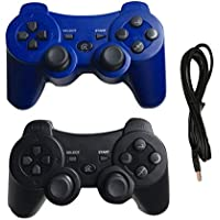 Ps3 Controller Wireless Controller with Charger Cable - 2...