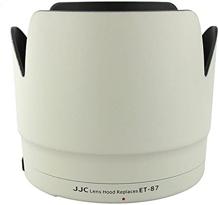 Lens Hood Shade For White Canon 70-200mm f//2.8L IS II USM Telephoto Zoom Lens Replaces CANON ET-87 W JJC LH-87