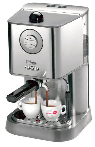Gaggia 12300 Baby Class Manual Espresso Machine, Brushed Stainless Steel