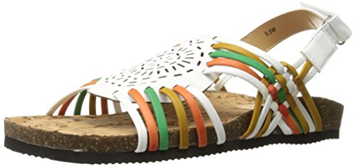Annie Shoes Womens Sunny W Flat Bright Multi