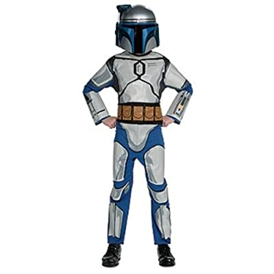 Star Wars Child's Jango Fett Costume, Medium: Toys & Games