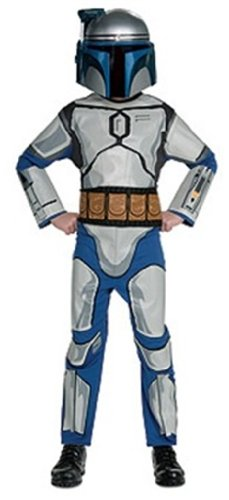 Star Wars Jango Fett Costumes (Star Wars Child's Jango Fett Costume, Medium)