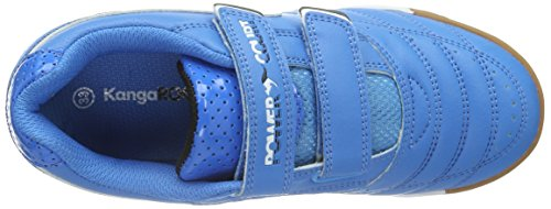KangaROOS Power Court, Jungen Sneakers Blau (blue/white 410)