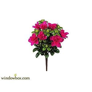 14in. Artificial Azalea Bush - Pink/beauty 112