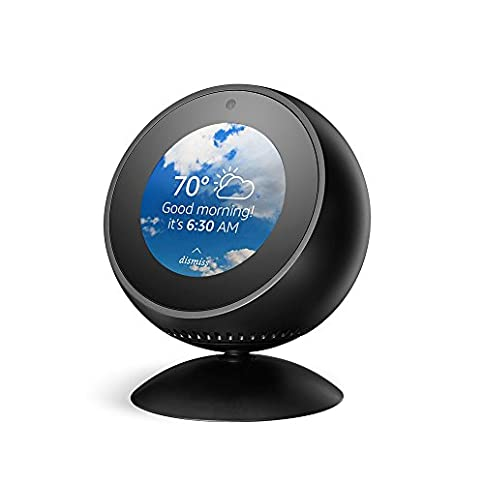 Echo Spot Adjustable Stand - Black - 41wmNWH2QwL - Echo Spot Adjustable Stand – Black