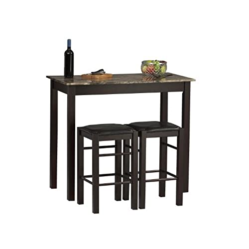 Beau Linon Tavern Collection 3 Piece Table Set