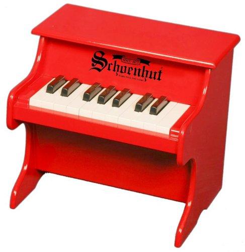 代引き人気 Schoenhut B00004WETH Tabletop 18 Key My First Tabletop Piano (Red) (Red) B00004WETH, CLASSIC:0b70d2c4 --- arianechie.dominiotemporario.com